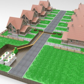 Схема размещения Kolo Ilma 150 в поселке