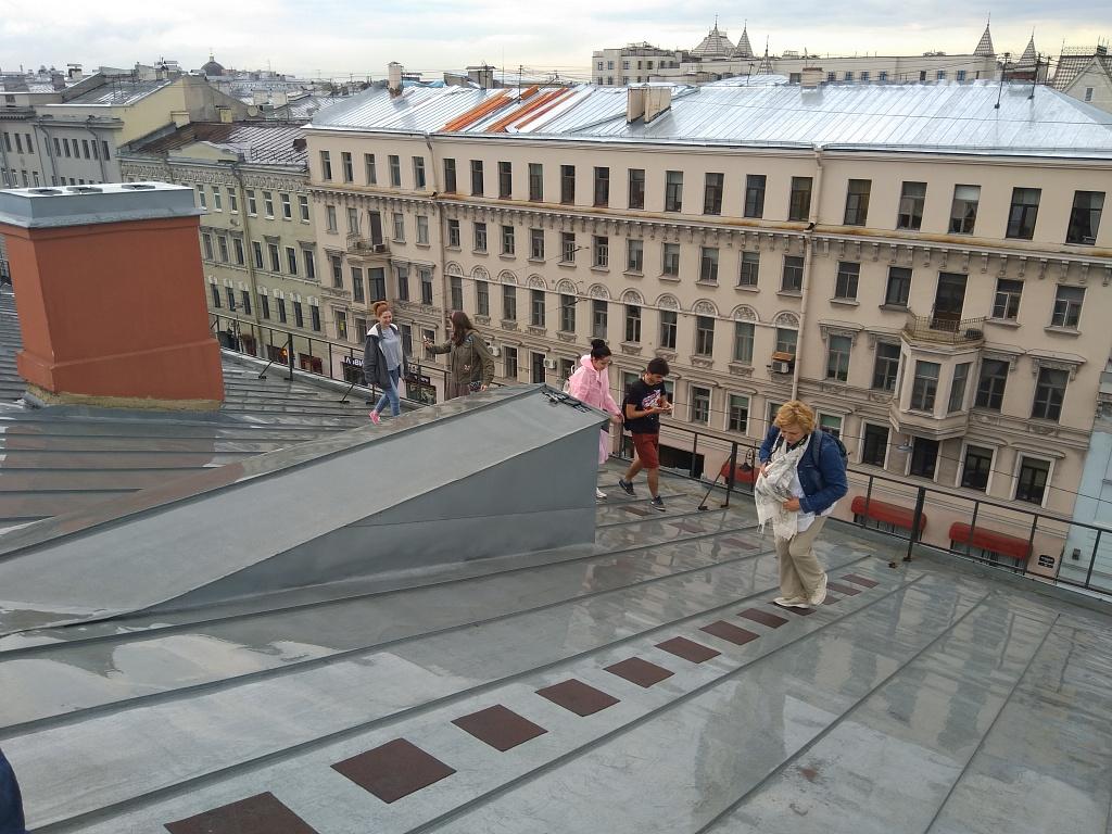Вечером после учебного дня - Санкт-Петербург с высоты