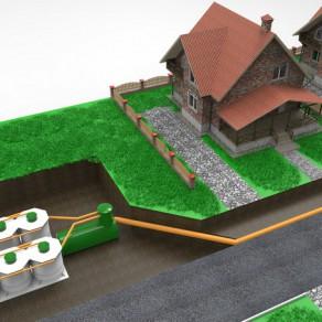 Локальная канализация для небольшого коттеджного поселка