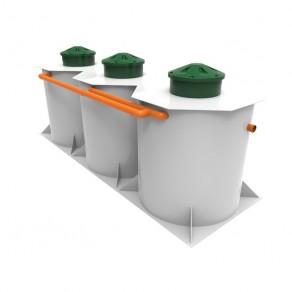 Kolo Ilma 75, вариант подземного монтажа в цилиндрическом корпусе