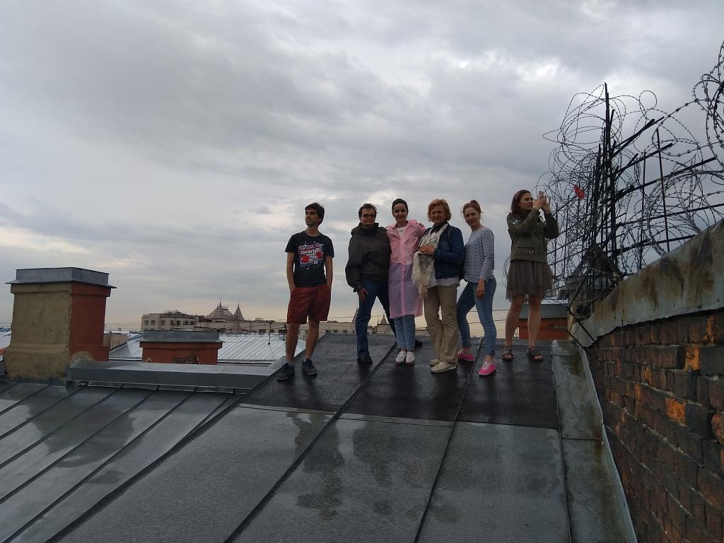 Экскурсия на крыши Санкт-Петербурга