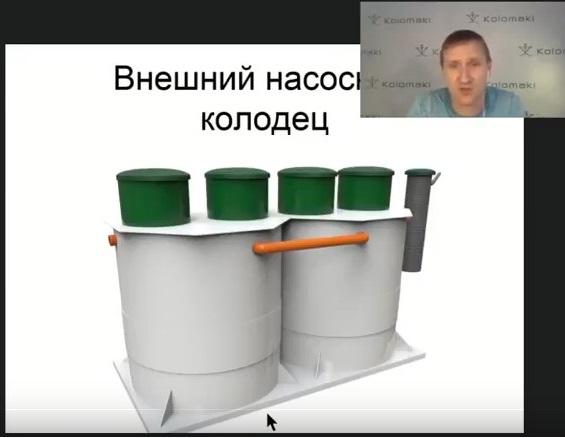 Мощные станции очистки Kolo Vesi 30. 40. 50 и 60