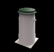 Колодец для принудительного отведения очищенного стока